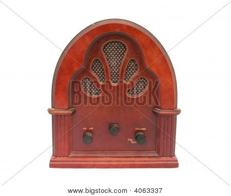 Antique Radio Box