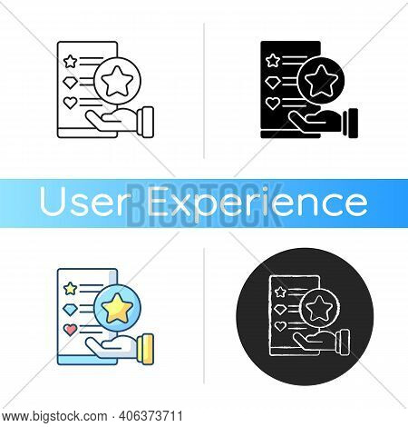 Usability Evaluation Icon. Adaptive Software. Interactive Application For Customer Satisfaction. Web