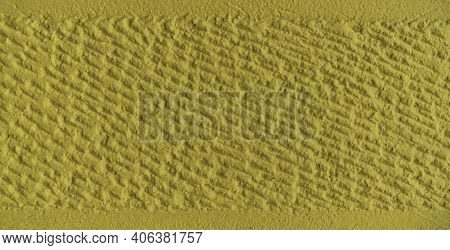 Nice Concrete Background Toned Yellow, Natural Textured Surface - Concrete Yellow Colorful Wall Surf