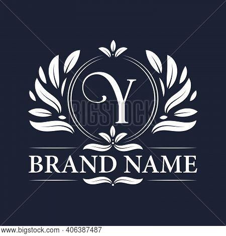 Alphabet Y Letter Logo Design. Vintage, Luxurious & Ornamental Luxury Letter Y Logo Design Template.