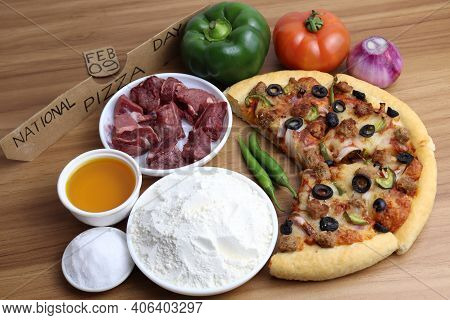 Pizza Closeup For Pizza Day