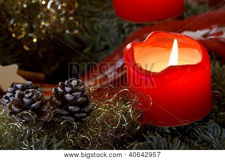 Advent Candle Light
