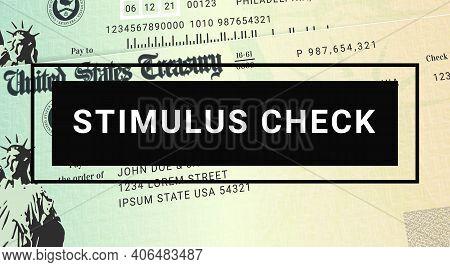 Us Stimulus Check Update. United States Relief Program