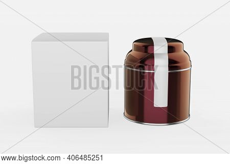 Elegant Cosmetic Or Skin Care On White Background. Cosmetic  Mock Up. Beautiful Cosmetic Template Fo