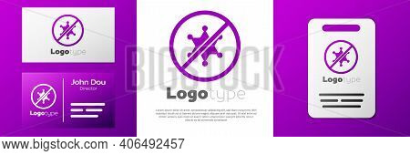Logotype Protest Icon Isolated On White Background. Meeting, Protester, Picket, Speech, Banner, Prot