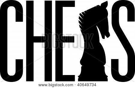 Chess silhouette