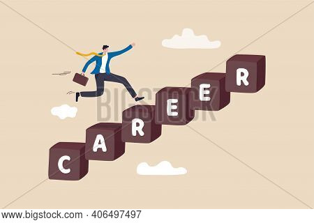 Career Development, Personal Development Or Job Promotion, Work Experience And Responsibility Growth