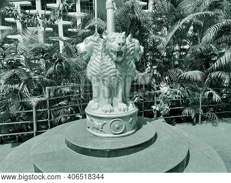 The State Emblem Of India, As The National Emblem Of Republic Of India Is Called, Is An Adaptation O