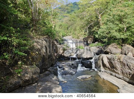Nangrong Waterfall In Nakhon Nayok, Thailand