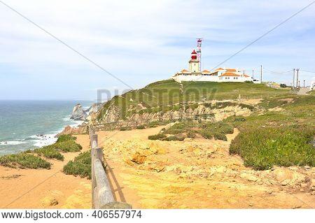 View Of The Cabo Da Roca (cape Roca), Portugal