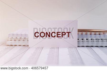 Concept Word, Inscription. Conception, Abstarct Idea