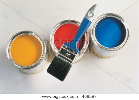 Paint And Brush