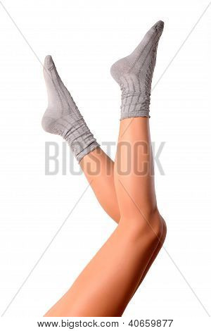 gray socks