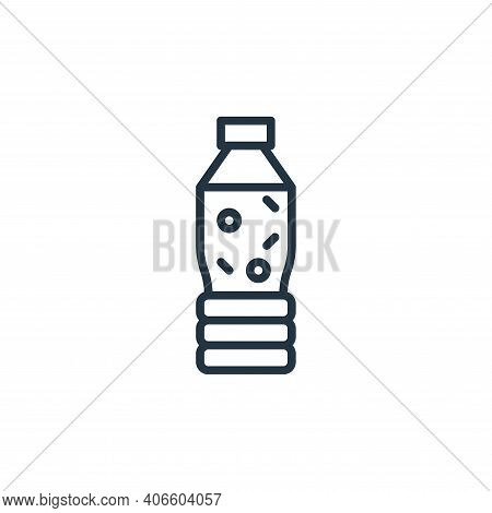 water icon isolated on white background from coronavirus collection. water icon thin line outline li