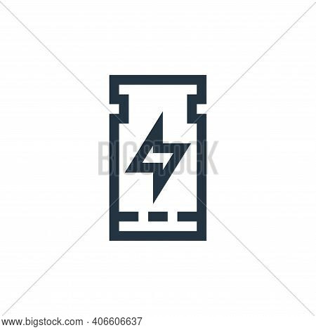 ticket icon isolated on white background from rock and roll collection. ticket icon thin line outlin
