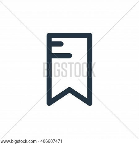 tag icon isolated on white background from multimedia collection. tag icon thin line outline linear
