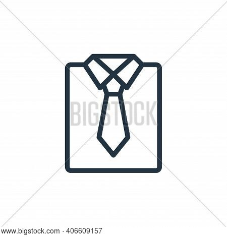 shirt icon isolated on white background from photography collection. shirt icon thin line outline li