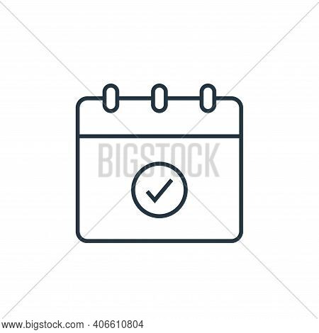 reminder icon isolated on white background from user interface collection. reminder icon thin line o