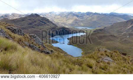 Cajas National Park, Andean Highlands,south America, Ecuador, Azuay Province, To The West Of Cuenca.