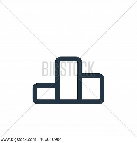 ranking icon isolated on white background from business collection. ranking icon thin line outline l