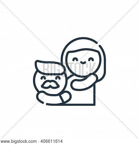 pregnancy icon isolated on white background from family life collection. pregnancy icon thin line ou