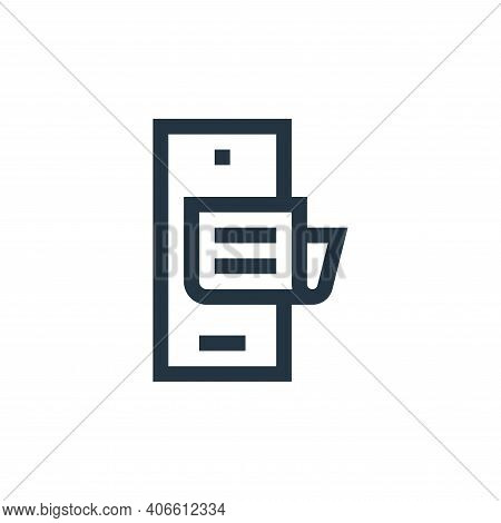 phone icon isolated on white background from news collection. phone icon thin line outline linear ph
