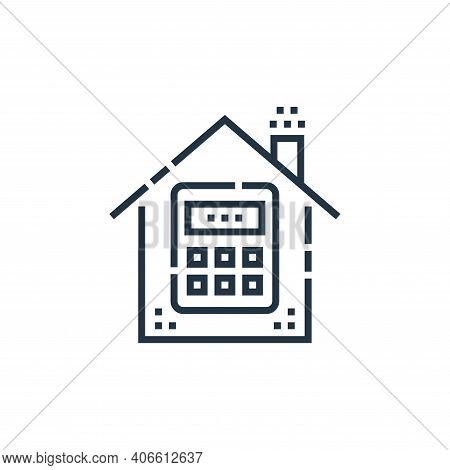 password icon isolated on white background from smarthome collection. password icon thin line outlin