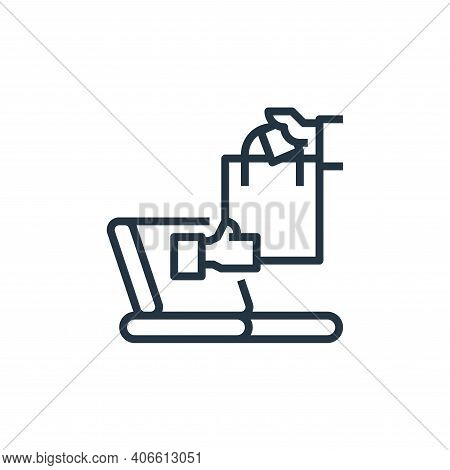online icon isolated on white background from branding collection. online icon thin line outline lin