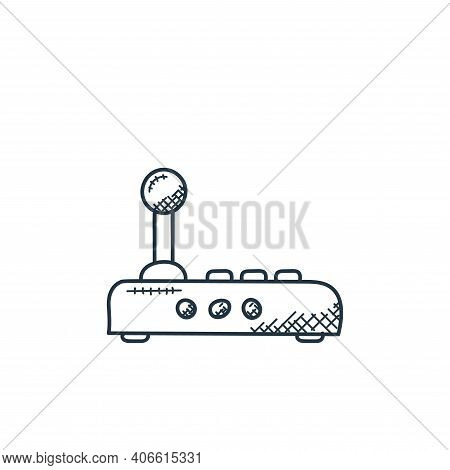 modem icon isolated on white background from technology collection. modem icon thin line outline lin