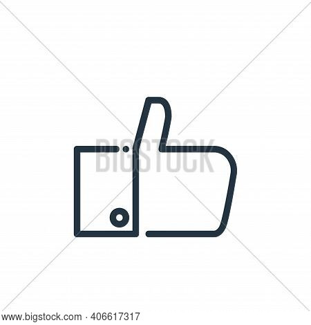 like icon isolated on white background from ricon collection. like icon thin line outline linear lik