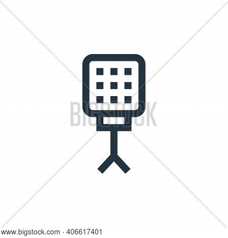 light icon isolated on white background from electronics collection. light icon thin line outline li
