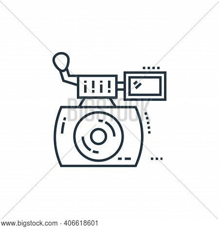 instant camera icon isolated on white background from technology devices collection. instant camera