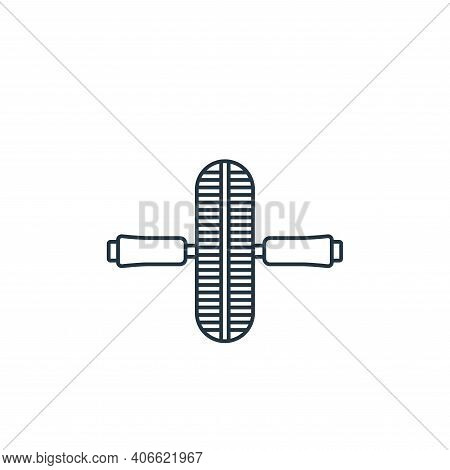 exercise tool icon isolated on white background from fitness collection. exercise tool icon thin lin