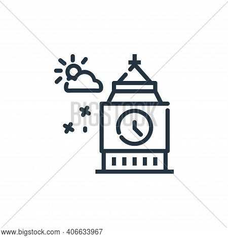 Big Ben Vector Icon From World Monument Collection Isolated On White Background