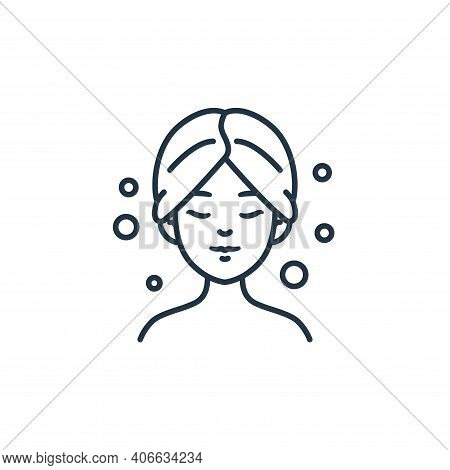 beauty treatment icon isolated on white background from beauty cosmetics collection. beauty treatmen