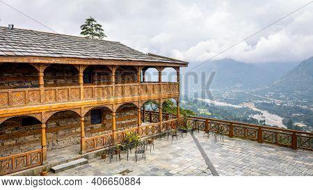Naggar, Himachal Pradesh - 11 Aug, 2019 - Naggar Castle Is A Medieval Castle, Located In Kullu, Hima