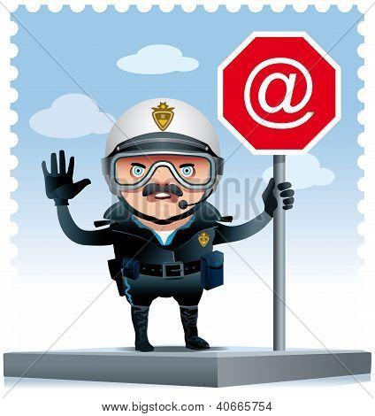 Motorised Policeman