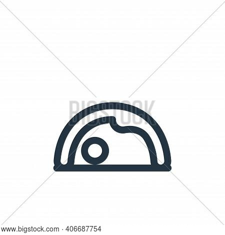 yoga icon isolated on white background from pilates collection. yoga icon thin line outline linear y