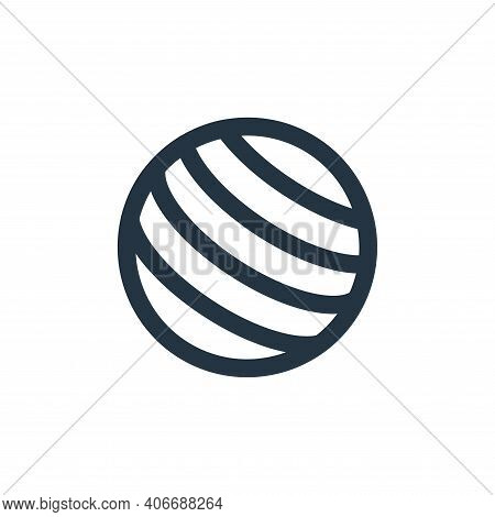 world wide web icon isolated on white background from holiday collection. world wide web icon thin l