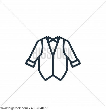 Tuxedo Vector Icon From Wardrobe Collection Isolated On White Background