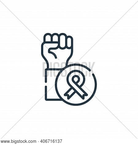 support icon isolated on white background from kindness collection. support icon thin line outline l