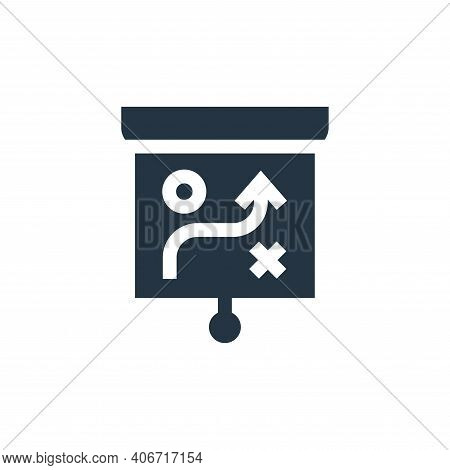strategy icon isolated on white background from advertisement collection. strategy icon thin line ou