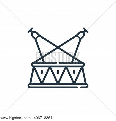 stage icon isolated on white background from circus collection. stage icon thin line outline linear