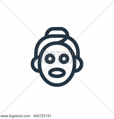 skincare icon isolated on white background from alternative medicine collection. skincare icon thin