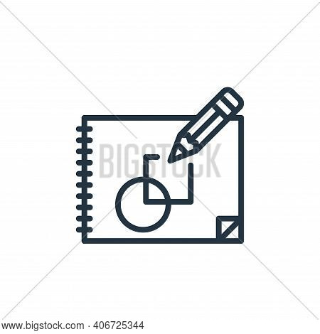 sketchup icon isolated on white background from graphic design collection. sketchup icon thin line o