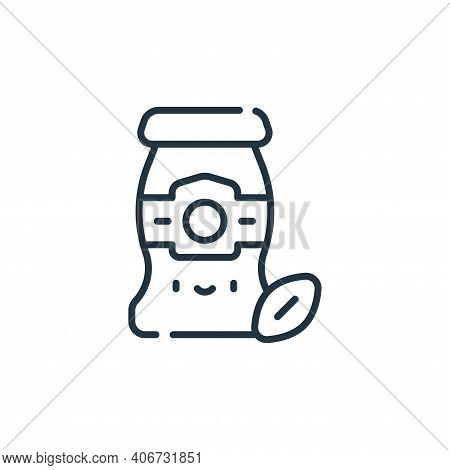 sauce icon isolated on white background from italy collection. sauce icon thin line outline linear s