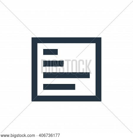 report icon isolated on white background from user interface collection. report icon thin line outli