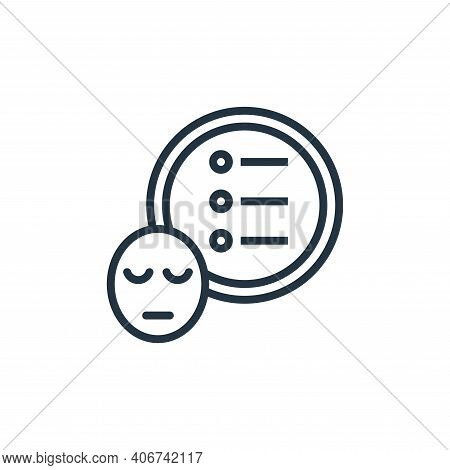 priority icon isolated on white background from work life balance collection. priority icon thin lin