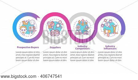 Co Creation Contributors Vector Infographic Template. Suppliers, Influencers Presentation Design Ele