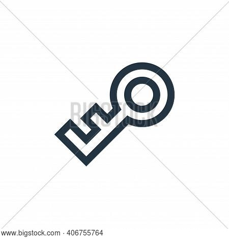 password icon isolated on white background from video game elements collection. password icon thin l